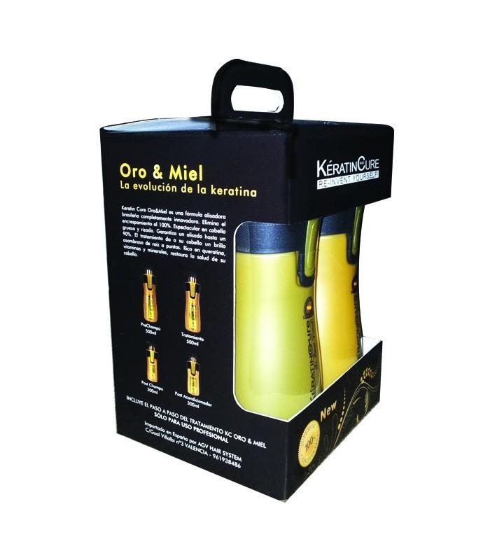Kit Completo Oro  Miel (500ml) 4und