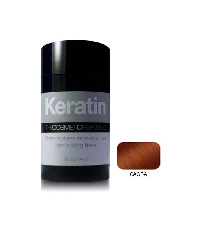 KERATIN CAOBA FIBRA DE KERATINA (12,5 gr)