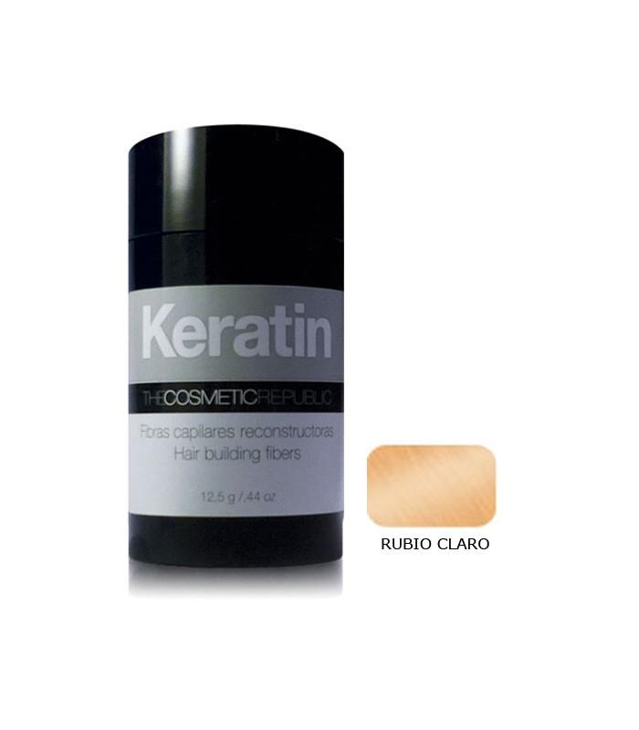 KERATIN RUBIO CLARO FIBRA DE KERATINA (12,5 gr)