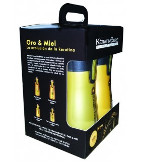 KIT COMPLETO ORO & MIEL (500ml) 4und