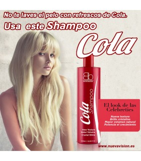 CHAMPÚ COLA VOLUMEN Y ONDAS 500ml