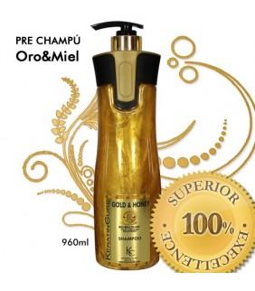 PRE-CHAMPU ORO & MIEL 960ml