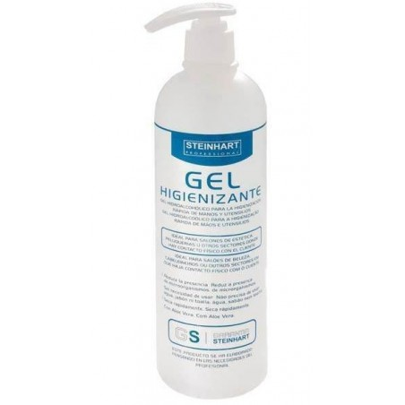 DESINFECTANTE GEL HIGIENIZANTE STEINHART 500ml