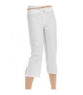 PANTALON PIRATA BLANCO T/M