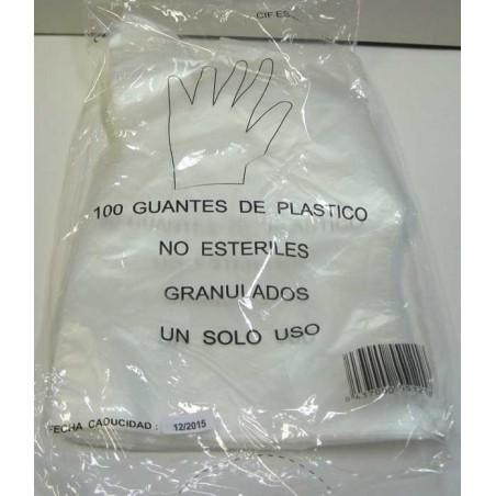 GUANTES DESECHABLES (BOLSA 100 UND) 100und