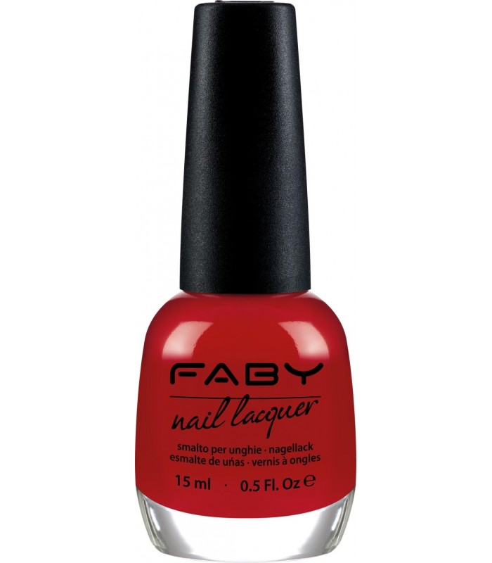 ESMALTE FABY'S RED 15ml