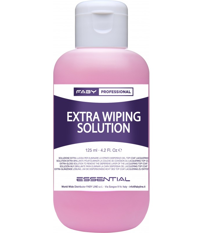 EXTRA WIPING SOLUTION 125ML