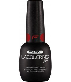 ESMALTE PERMANENTE F FABY'S RED 15ml