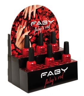FABY'S RED 6PCS