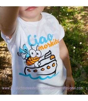 CAMISETA CIAO MOSKITO NIÑO 9-11Años/140cm