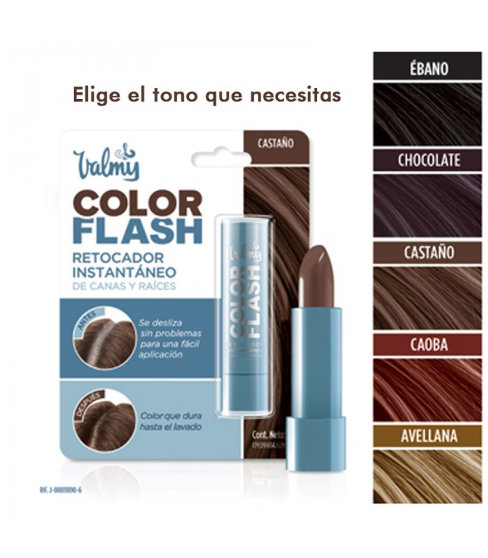 RETOCADOR DE CANAS Y RAICES COLOR CHOCOLATE 4gr