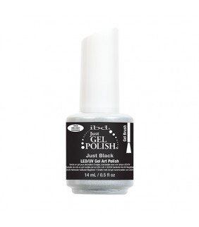 ESMALTE PERMANENTE IBD JUST BLACK 14ml