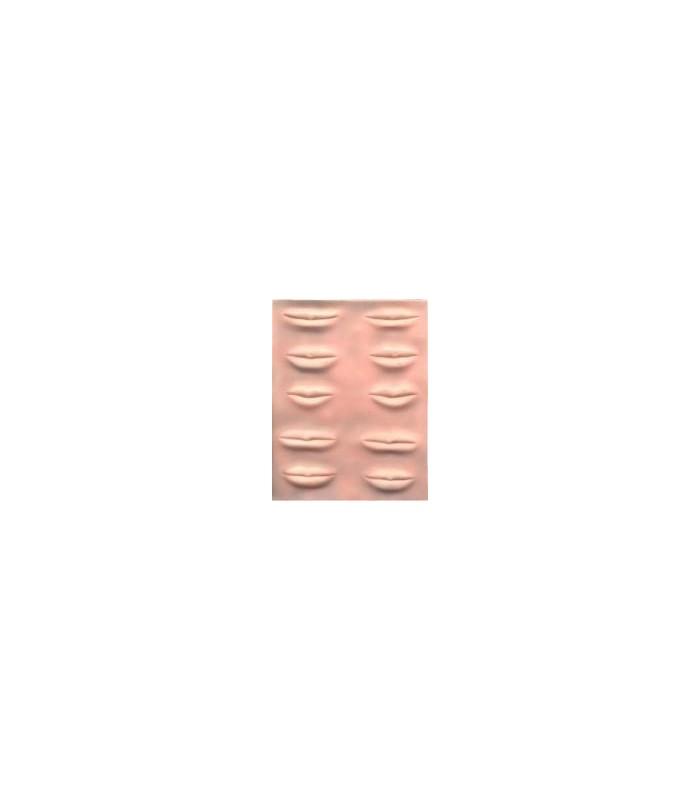 PLANTILLA SILICONA LABIOS MICRO 3D