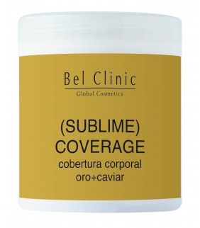 SUBLIME COVERAGE(covertura corportal oro+caviar) 1000ml