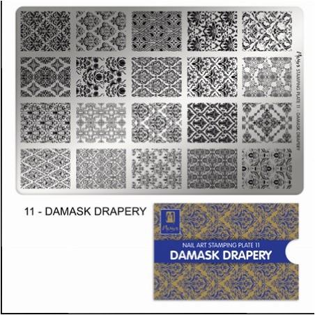 MOYRA PLACA STAMPING Nº 11 DAMASK DRAPERY