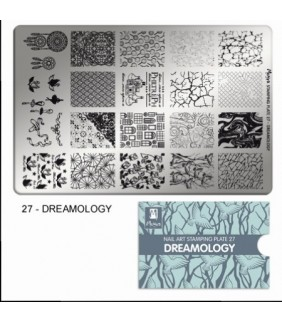 MOYRA PLACA STAMPING Nº 27 DREAMOLOGY