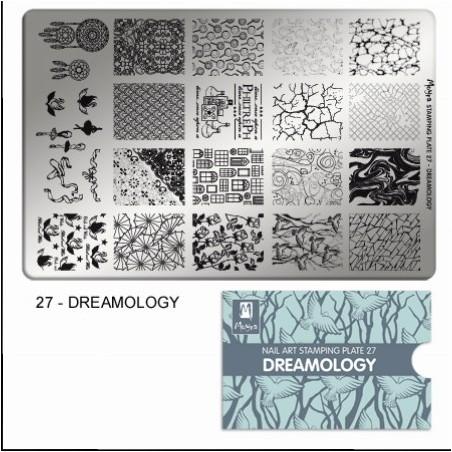MOYRA PLACA STAMPING Nº 27 DREAMOLOGY