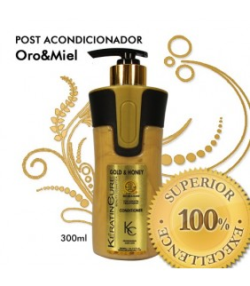 POST-ACONDICIONADOR ORO & MIEL ALISADO 300ml