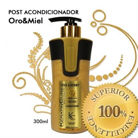 POST-ACONDICIONADOR ORO & MIEL ALISADO 300ml