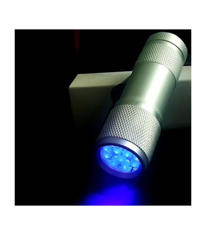 LAMPARA MINI LED (LINTERNA UV)