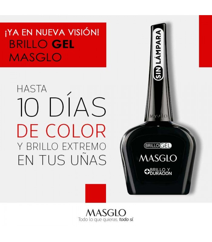 TOP COAT EFECTO GEL BRILLO S/LAMPARA