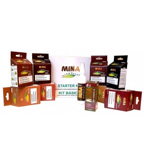 KIT BASICO HENNA 8 COLORES