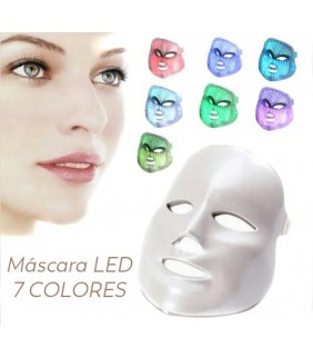MASCARA FACIAL LED