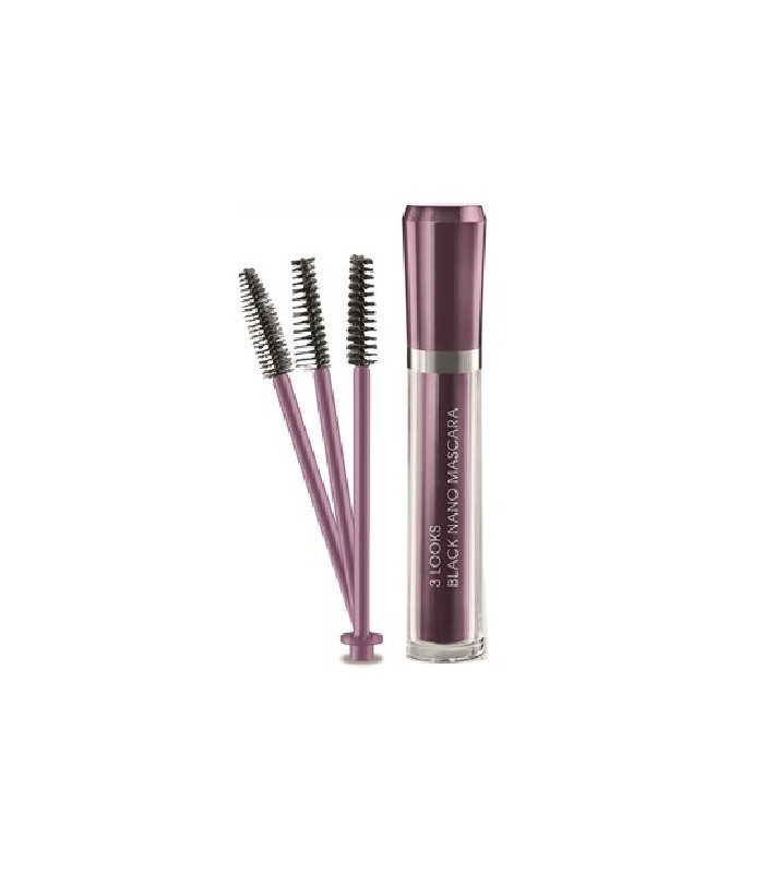 M2 BEAUTY 3 LOOKS BLACK NANO MASCARA