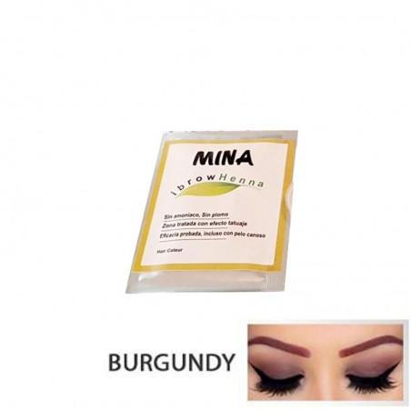 MUESTRA DE HENNA BURGUNDY