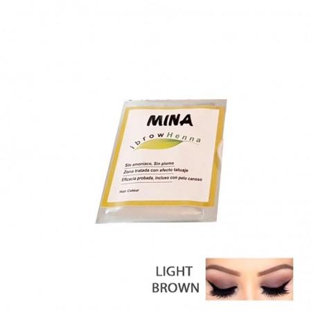 SOBRE DE HENNA LIGHT BROWN