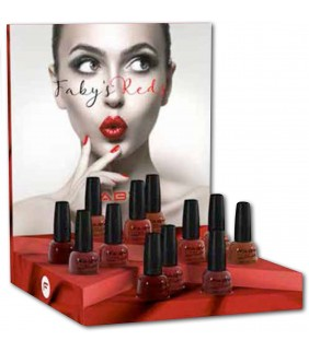 EXPOSITOR COLECCIÓN FABY'S RED 12und