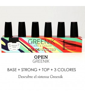 OPEN KIT ESMALTADO GREENIK...