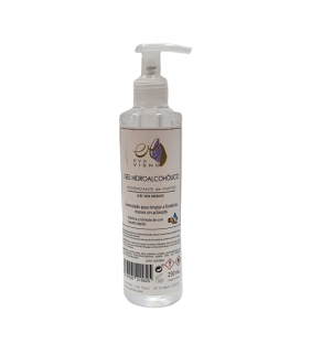 GEL HIDROALCOHOL 70% CON ALOE VERA 250ml