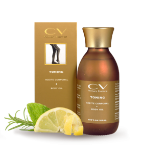 Aceite natural para piernas cansadas