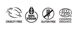 Ecocert. Cruelty Free. Vegan