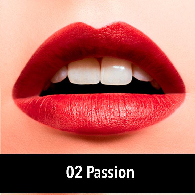 barra de labios roja de jorge de la garza