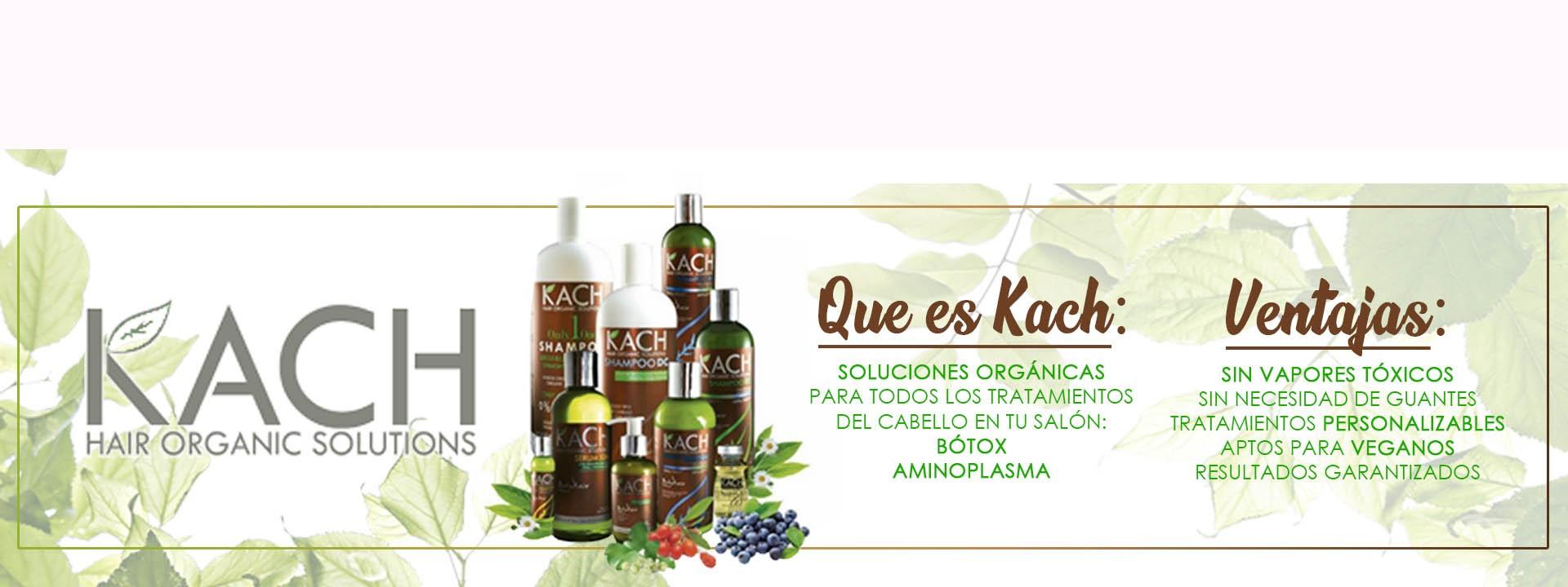 Productos de peluquería orgánicos